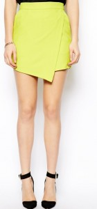 Candy Color Skirt Shorts Casual Pan