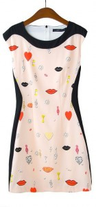 Top Shop Inspired Printed Tank DressA