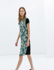 ASOS Inspired Hawaii Prints Casual Short-sleeves Dress