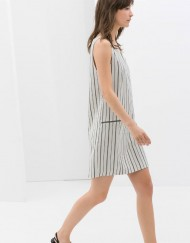 ASOS Inspired Striped Dress with Zips