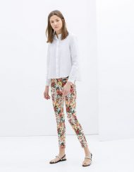 Pocket Printed Trousers -