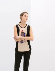 Beauty Prints Casual Tank Tops Tops -