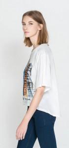 Building Prints Casual Short Sleeves T-shirt ' Tops -