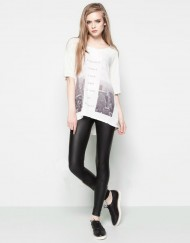 City Light Printed Casual T-shirt ASOS Inspired Tops