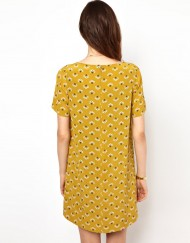 Top Shop Inspired Dandelion Prints Casual Dress