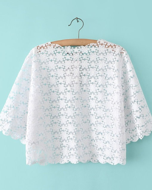 Top Shop Inspired Flowers Printed Half Sleeve O-Neck Tops T-shirt