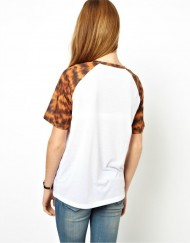 Top Shop Inspired Giraffe Prints Casual Tops T-shirt