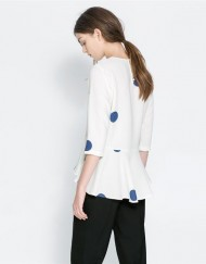 Dots Prints Casual Blouse ASOS Inspired shirts -