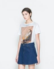 Beauty Girl Printed Casual Short-sleeves T-shirt ASOS Inspired Tees -