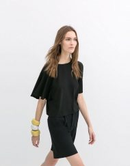 Cropped Tops with Kimono Sleeves