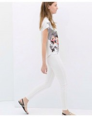 Flower Printed T-shirt ASOS Inspired Tops