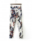 Loose Floral Printed Trousers Pants TW-