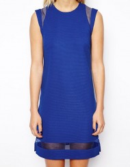 Pure Color Tank Dress