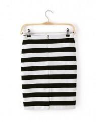 Stripe Mini Skirt ASOS Inspired Pencil Skirt S-O