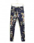 Floral Printed Trousers -