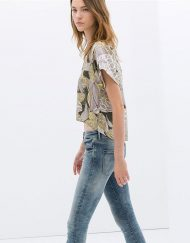 Flower Printed Tops -