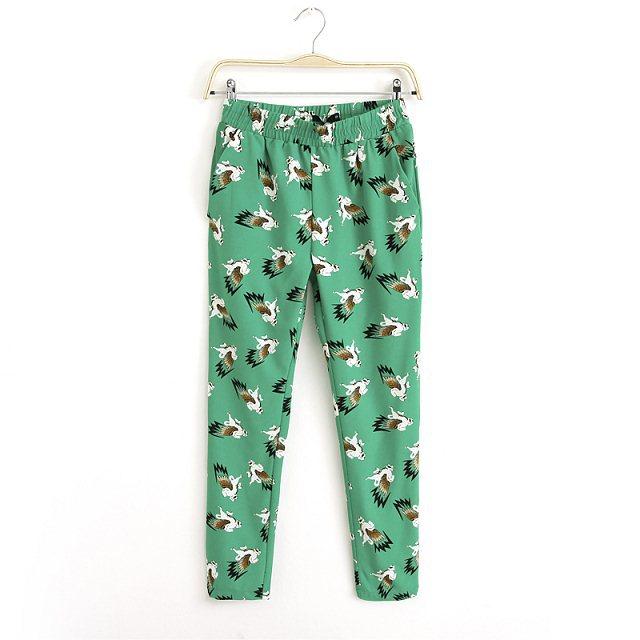 Flying Horse Prints Harem Pants ASOS Inspired Trousers TW-