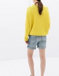Holes Denim Shorts Pants -