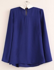 Korean Casual Chiffon Blouse leisure Shirt