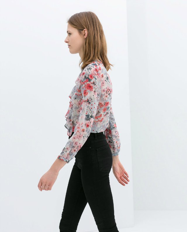 Women'S Blouse With Ruffles 81