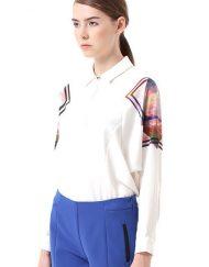 Stars Sky Prints Bat sleeves Casual Blouse ASOS Inspired shirts -