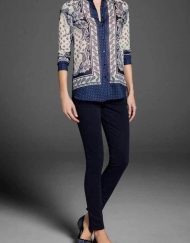 Vintage Flower Casual Chiffon Blouse ASOS Inspired Shirt