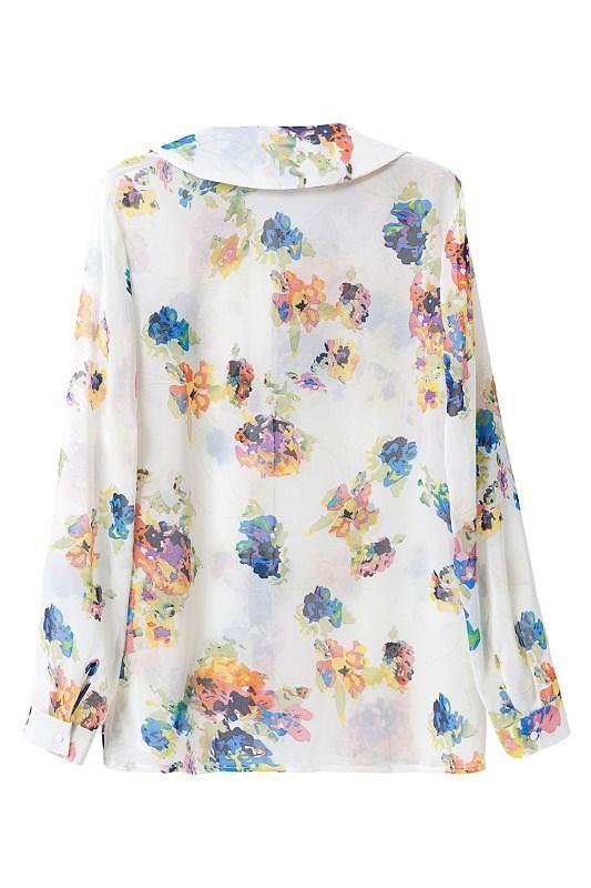 Peter pan collar blouse pattern blouse styles for Peter pan shirt pattern