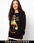 Must Have Lovely Dog Pattern Casual Sweatshirts Tops -