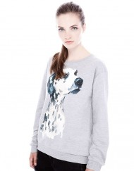 Must Have Spotty Dog Prints Casual Sweatshirts Tops -