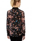 ASOS Inspired Birds and Flower Prints Casual Blouse Leisure Shirt