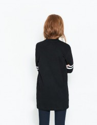 ASOS Inspired Number  Printed Three quarter Sleeves Sporty Dress  DRB