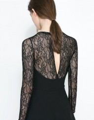 ASOS Inspired Sexy Lace Slim Fit Dress