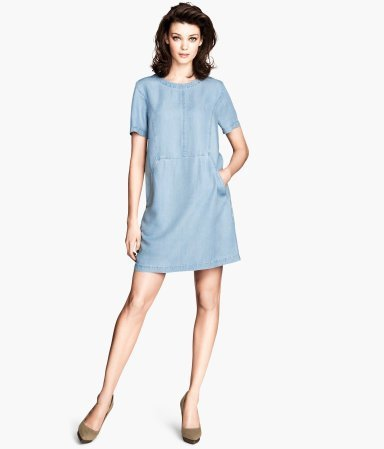 Straight Dresses with Sleeves