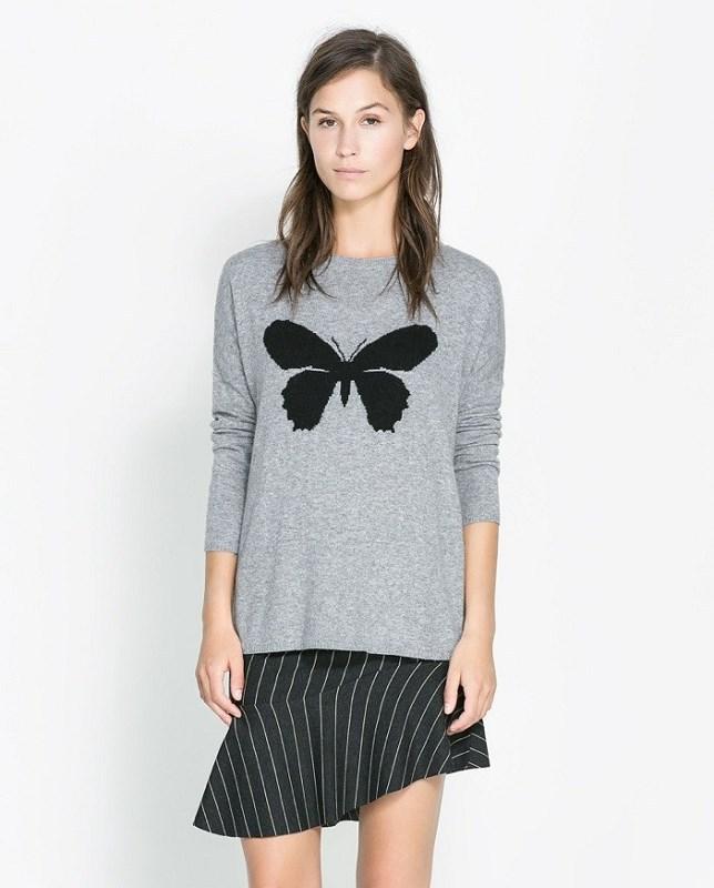 Пуловер Бабочка