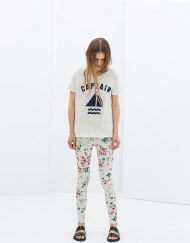 Floral Printed Casual Trousers ASOS Inspired Summer Skinny Pants with Pock