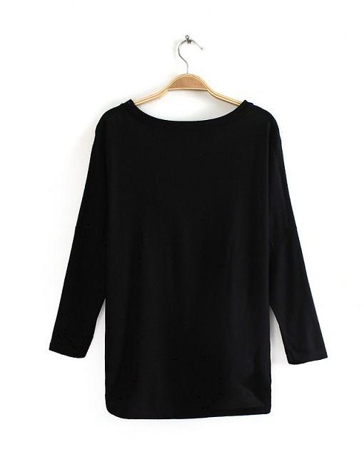 Girls Prints Casual T-shirt Tops -