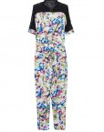 High Quality Flower Prints Leisure Jumpsuits ASOS Inspired Pants Trousers