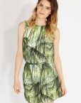 Jungle Prints Leisure Short Jumpsuits ASOS Inspired Pants Trousers with Sashes