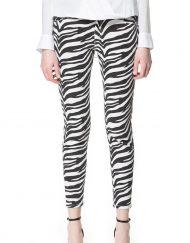 Woman Zebra Prints Skinny Pencil Trousers ASOS Inspired Pants -