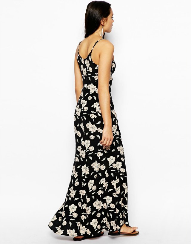 Bohemian Style Fl Printed St Long Dress Summer Avery Couture