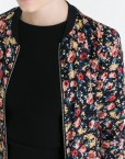 Flower Prints Leisure Bomber Jackets Coats BL
