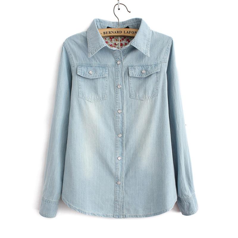 denim shirt pockets - photo #7