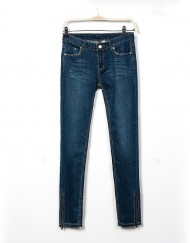 Skinny Strenched Pencil Jeans Denim Pants