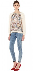 Paisley Prints Sweater ASOS Inspired Casual Knitwear -