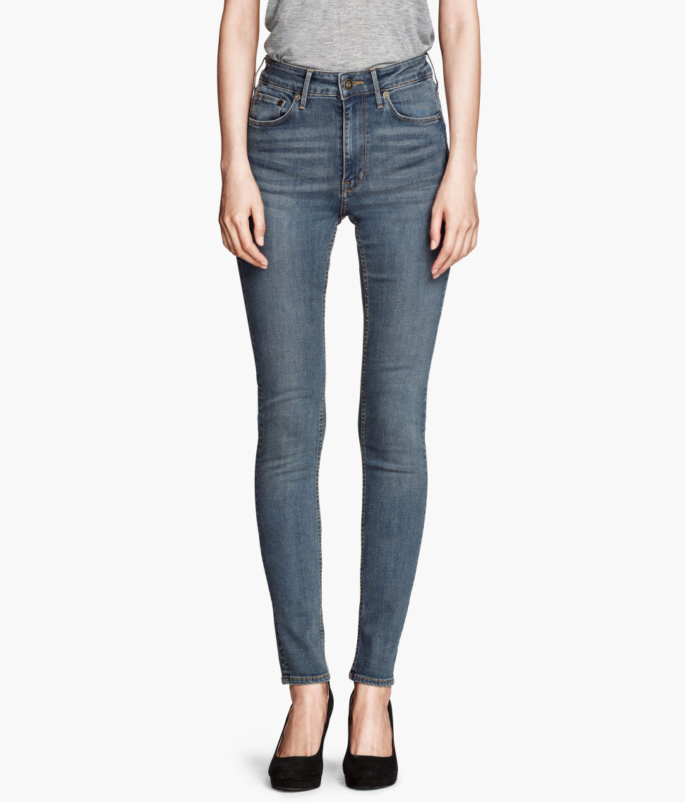 The goal: to make a stylish pair of jeans that doesn't slide down in the back or look too baggy in the ankle.