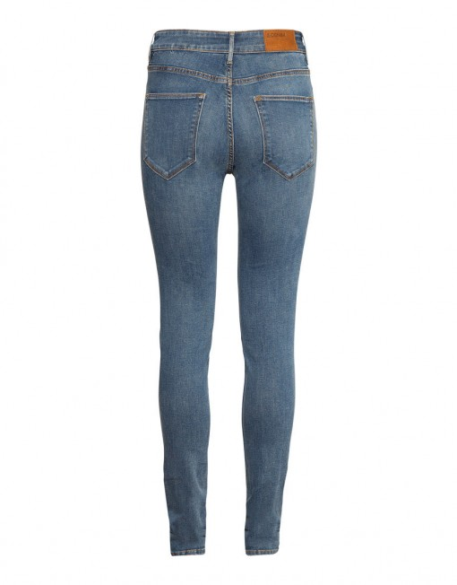 ultra-slim legs and a high waist Jeans ASOS Inspired Denim Pants -