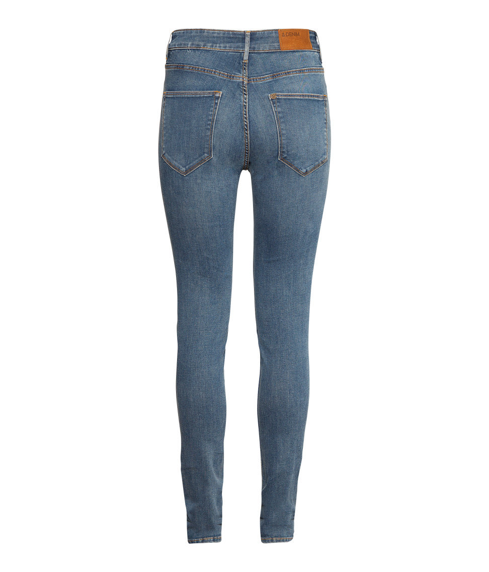 Ultra-slim Legs And A High Waist Jeans Denim Pants U2013 | Avery Couture