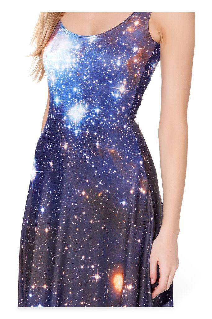 Autumn Winter Dresses Galaxy Dress Maxi Dress Long Dresses Plus ...