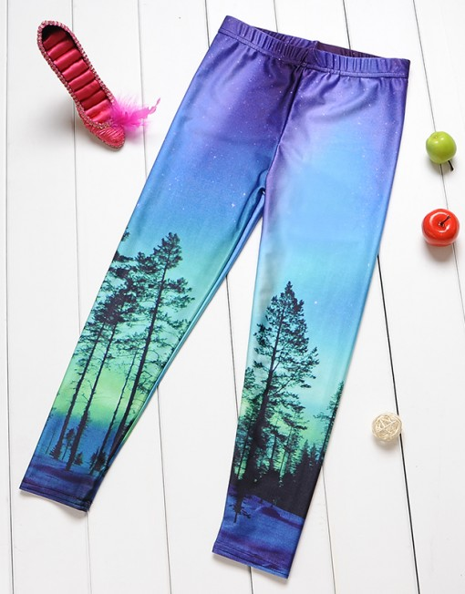 4-9Years Baby Girl Legging Children Pants Aurora Skye Leggings Girls Leggings Kids Leggings Girls Cute Pants For Kids
