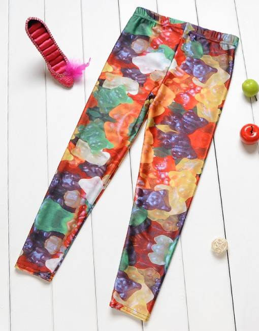 4-9Years Baby Girl Legging Children Pants Cute Candy Leggings Girls Leggings Kids Leggings Girls Cute Pants For Kids
